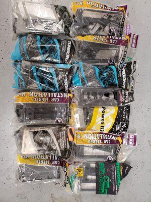 Car audio dash kits & wiring harnesses for Sale in Modesto, CA