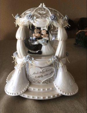 Disney decorations musical wedding globe Mickey Minnie. for Sale in Redlands, CA