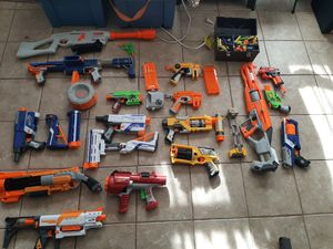 Giant Bundle of Nerf Guns, Darts, and Accessories for Sale in Marlborough, MA