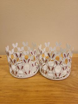 Bath and body works Bunny Candle Holders for Sale in Fairfax,  VA