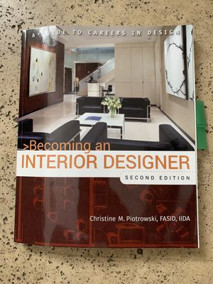 Becoming an interior designer 2nd edition for Sale in Miami, FL