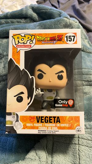 Vegeta GameStop exclusive funko pop for Sale in San Jose, CA