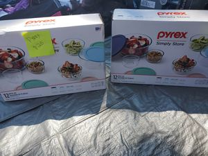 Pyrex storage containers for Sale in Tracy, CA