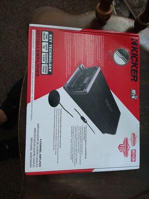 Kicker 180.4 amp great for door speaker for Sale in Portland, OR
