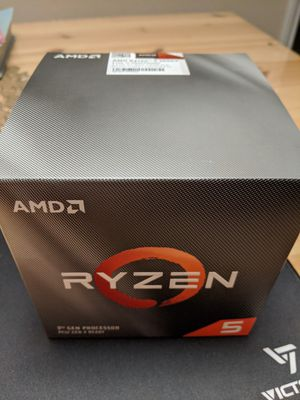 Ryzen 5 3600X 6 core 12 thread unlocked brand new for Sale in Grapevine, TX