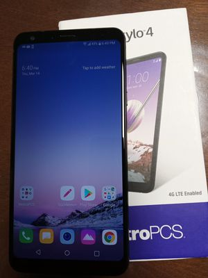 Lg Stylo 4 Metro by T mobile like new condition for Sale in Renton, WA