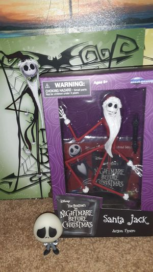 Nightmare Before Christmas Santa Jack Collectable for Sale in Pittsburgh, PA