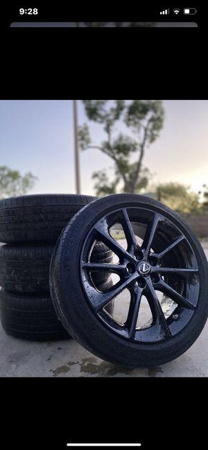 "Lexus F sport 17"" rims for Sale in Sylmar, CA"