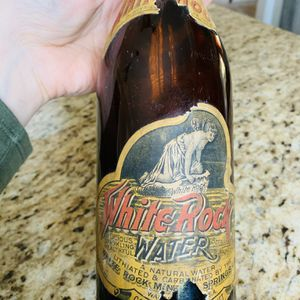 Vintage Rustic Antique Collectible White Rock Glass Water Bottle for Sale in Newark, CA