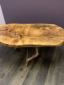 Custom Maple Slab Table for Sale in Portland,  OR