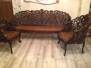 Antique ornate Filipino wood furniture for Sale in Shoreline, WA
