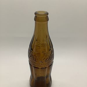Antique Coca Cola Amber Contour Bottle- 1916- Jericho TN for Sale in Miami, FL