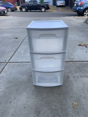 Plastic drawer for Sale in Oakland, CA