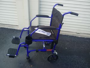 Transport wheel chair for Sale in Kissimmee, FL