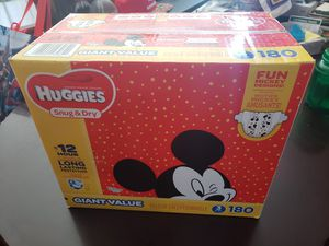 Brand New Huggies Diapers Size 3 for Sale in Corona, CA
