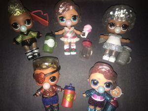 Lol winter disco dolls lot of 5 for Sale in Portland, OR