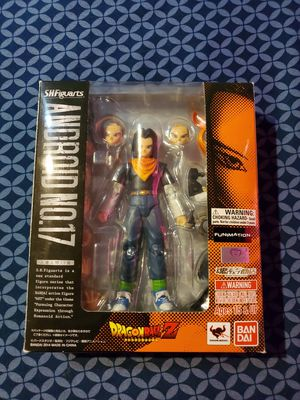 Dragon ball Z S.H.Figuarts- Android 16 and Android 17 for Sale in Phoenix, AZ