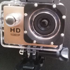 1080 HD Gold Sports Action Camera for Sale in Oklahoma City, OK