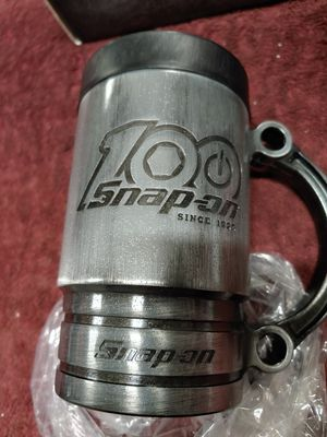 Snap-on Tools limited edition 100th anniversary flankard mug set for Sale in Romeoville, IL