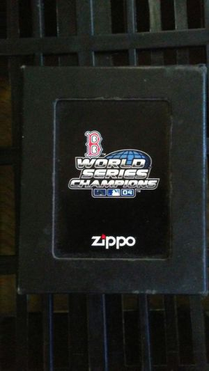 Boston Red Sox World Series Zippo for Sale in Phoenix, AZ