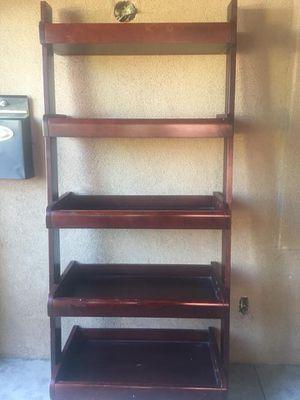 Thick wooden ladder shelf for Sale in La Mesa, CA