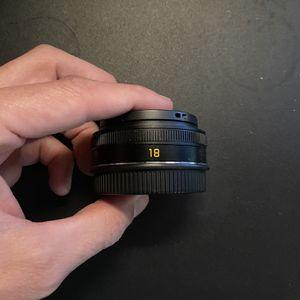 Leica 18mm F2.8 ELMARIT-TL Aspherical Pancake Lens for Sale in Phoenix, AZ