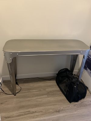Metal Console Table or Desk for Sale in Seattle, WA