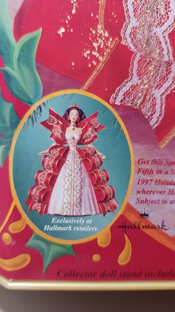 Special Edition Happy Holidays Barbie from 1997
