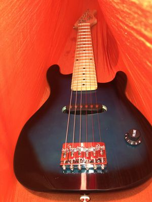 half size electric guitar blue for Sale in Eau Claire, WI