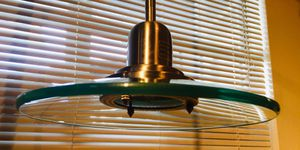 Beautiful modern glass stainless steel ceiling lamp for Sale in Sun Lakes, AZ
