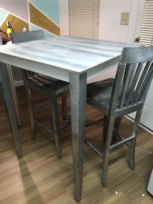 Wooden Bar height table for Sale in Charlotte, NC