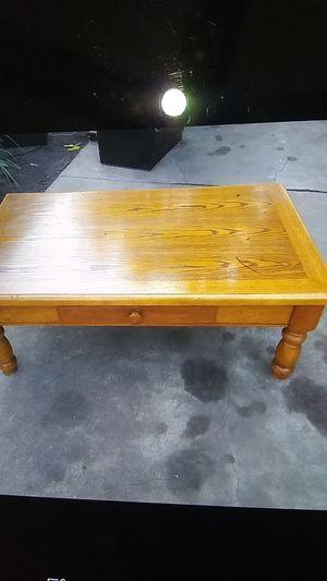 Solid Oak Coffee table for Sale in Wichita, KS