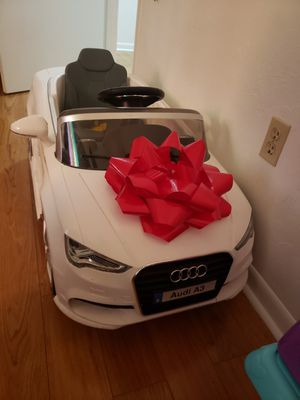 Audi Power wheels for Sale in Gainesville, FL