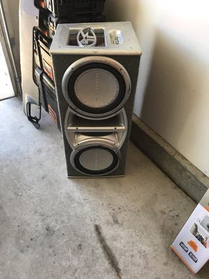 Rockford fosgate subwoofers size 12 each subwoofer is rated at 500 rms watts and 1000 peak for Sale in San Diego, CA