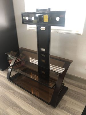 FREE TV table with Glass Shelves for Sale in Mather, CA