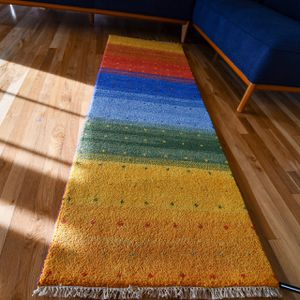 2.3x6.9 Hand Knotted Gabbeh Runner for Sale in Happy Valley, OR