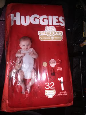 HUGGIES LITTLE SNUGGLERS 1 for Sale in Cibolo, TX