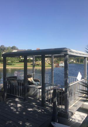 (Vintage) pontoon boat for Sale in Lake Forest, CA