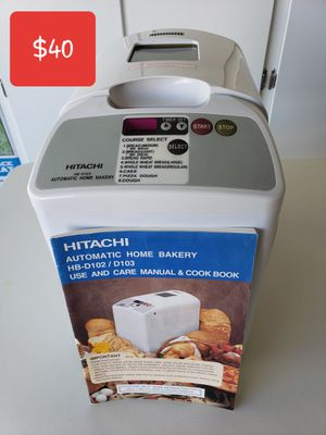 Hitachi bread maker for Sale in Las Vegas, NV