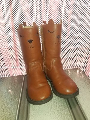 Carters Toddler Girl Boots (size 8) for Sale in Garland, TX