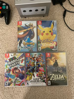 nintendo switch games $37 each for Sale in Clackamas, OR