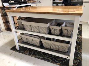 BadAss kitchen island/seats 2/storage for Sale in Ventura, CA