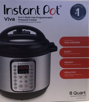 Instant Pot Viva 9-in-1 Pressure Cooker for Sale in Myrtle Beach, SC