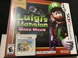 Luigi's Mansion : Dark Moon [NINTENDO 3DS] for Sale in Fort Worth, TX