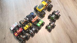 12 Monster jam trucks truck collection for Sale in Redington Shores, FL