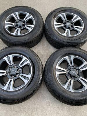 "17"" Toyota Tacoma TRD Sport OEM rims wheels tires BRAND NEW! for Sale in Boynton Beach, FL"