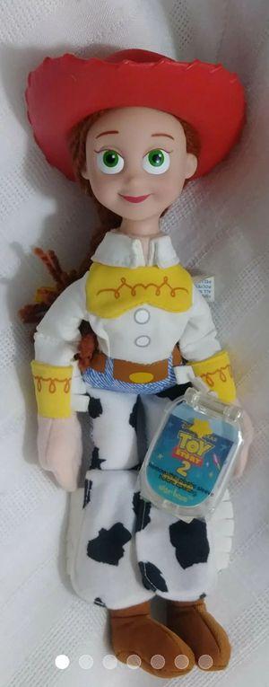 MATTEL Disney Pixar Toy Story 2 JESSIE STAR BEAN Plush Doll for Sale in Homestead, FL