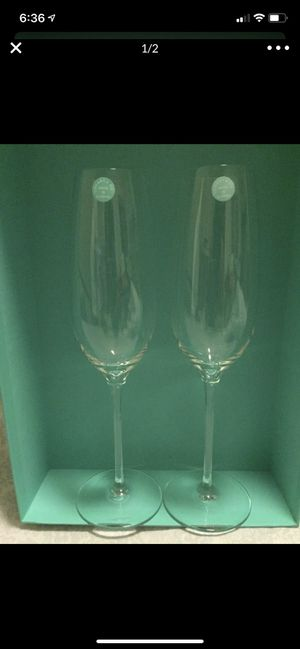 Tiffany & Co. Champagne Flutes for Sale in Kapolei, HI