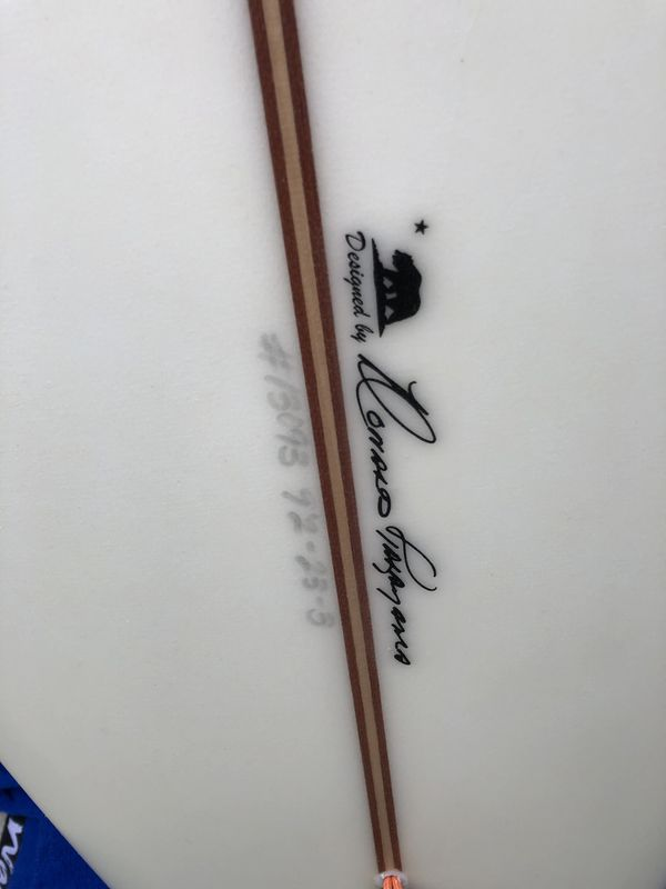 Takayama 9'2 Longboard Surfboard