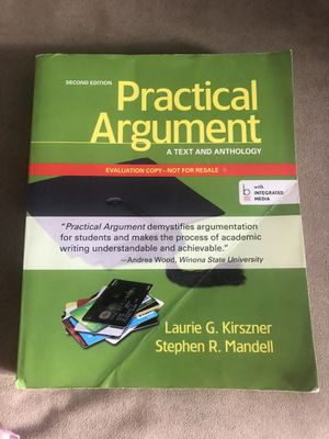 Practical Argument textbook for Sale in Chicago, IL